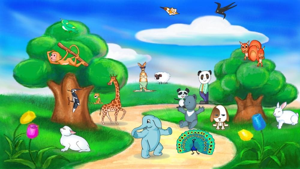 森林里的动物园